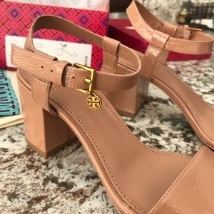 5fb2baf6500 Tory Burch Shoes - Laurel Ankle Strap Sandal Tory Burch